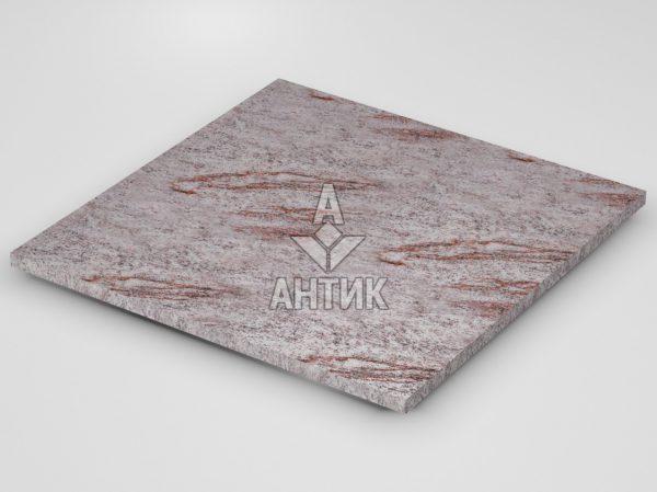 Плитка из Крутневского гранита 600x600x20 термообработанная фото