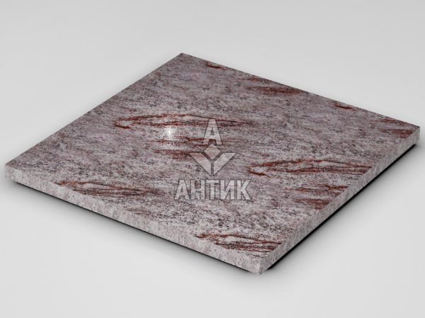 Плитка из Крутневского гранита 600x600x30 полированная фото