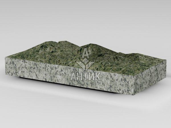 Плитка из Ланового гранита 400x200x50 колотая фото