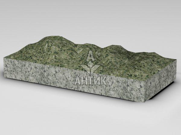 Плитка из Ланового гранита 600x300x80 колотая фото