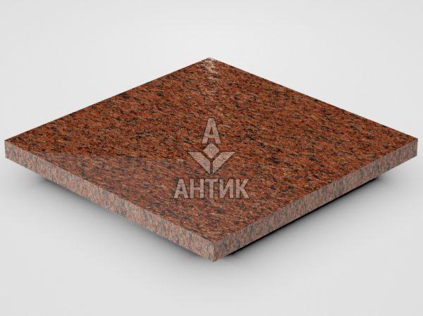 Плитка из Лезниковского гранита 300x300x20 полированная фото