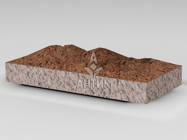 Плитка из Лезниковского гранита 400x200x50 колотая фото