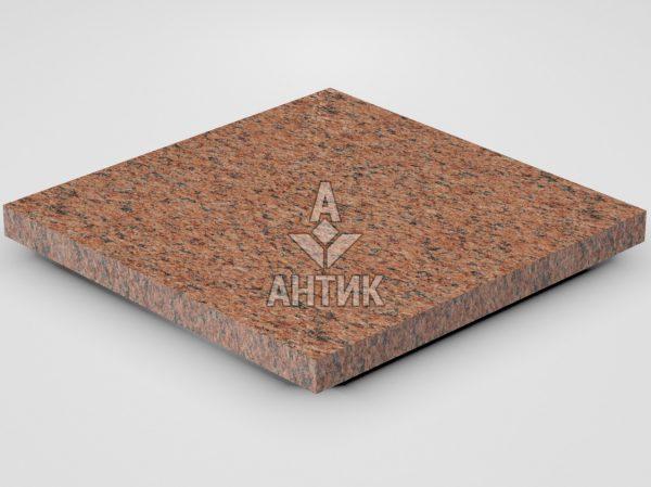 Плитка из Лезниковского гранита 400x400x30 термообработанная фото