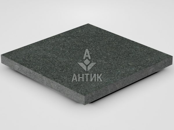 Плитка из Лугового габбро 400x400x30 термообработанная фото