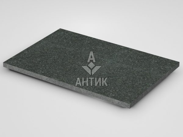 Плитка из Лугового габбро 600x400x20 термообработанная фото