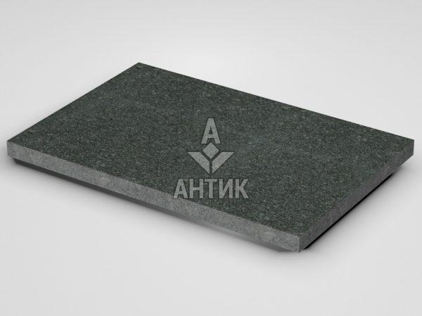 Плитка из Лугового габбро 600x400x30 термообработанная фото