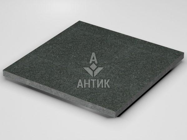 Плитка из Лугового габбро 600x600x30 термообработанная фото
