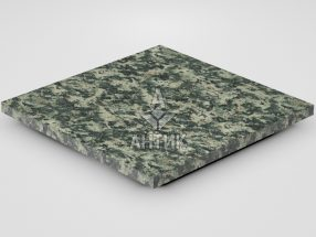 Плитка из Луковецкого анортозита 400x400x20 термообработанная фото