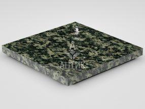 Плитка из Луковецкого анортозита 400x400x30 полированная фото