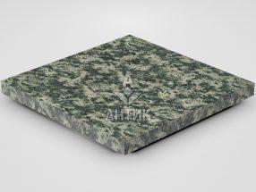 Плитка из Луковецкого анортозита 400x400x30 термообработанная фото