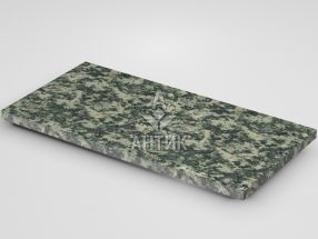 Плитка из Луковецкого анортозита 600x300x20 термообработанная фото