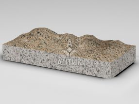 Плитка из Межиричского гранита 600x300x80 колотая фото