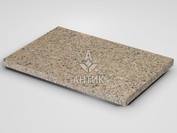 Плитка из Межиричского гранита 600x400x30 термообработанная фото