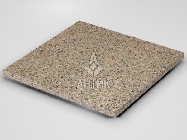 Плитка из Межиричского гранита 600x600x30 термообработанная фото
