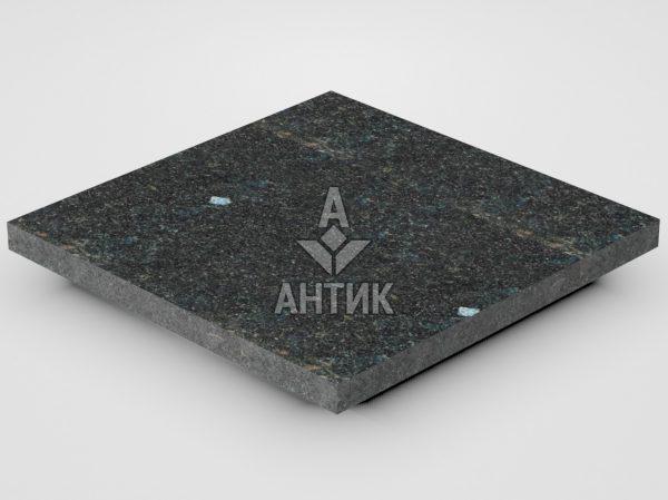 Плитка из Неверовского лабрадорита 300x300x20 термообработанная фото