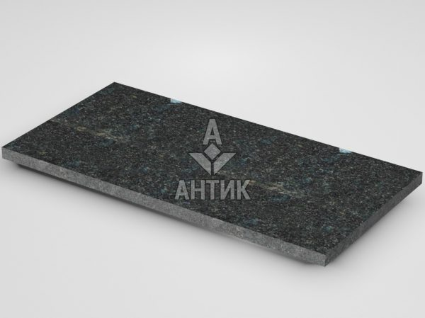 Плитка из Неверовского лабрадорита 600x300x20 термообработанная фото