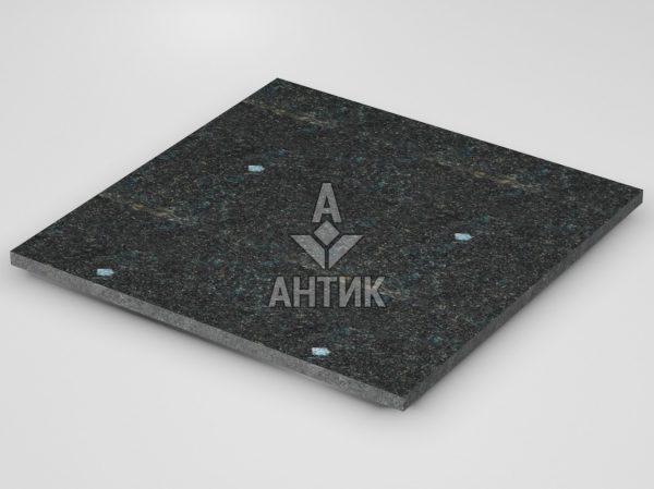 Плитка из Неверовского лабрадорита 600x600x20 термообработанная фото