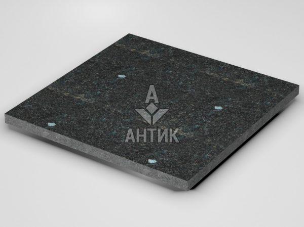Плитка из Неверовского лабрадорита 600x600x30 термообработанная фото