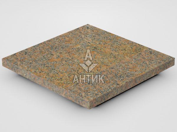 Плитка из Новоданиловского гранита 300x300x20 термообработанная фото