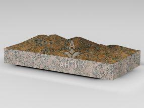 Плитка из Новоданиловского гранита 400x200x50 колотая фото