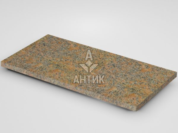 Плитка из Новоданиловского гранита 600x300x20 термообработанная фото