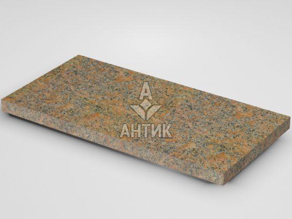 Плитка из Новоданиловского гранита 600x300x30 термообработанная фото