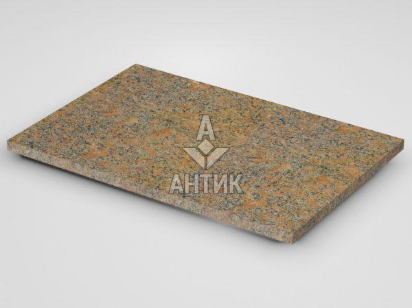 Плитка из Новоданиловского гранита 600x400x20 термообработанная фото