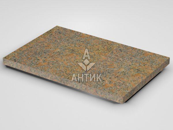 Плитка из Новоданиловского гранита 600x400x30 термообработанная фото