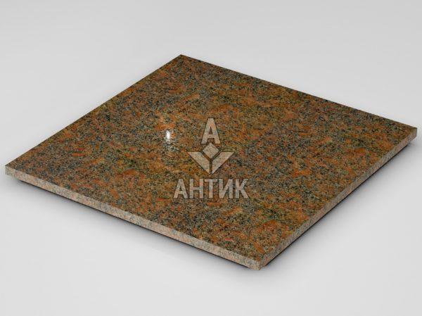 Плитка из Новоданиловского гранита 600x600x20 полированная фото