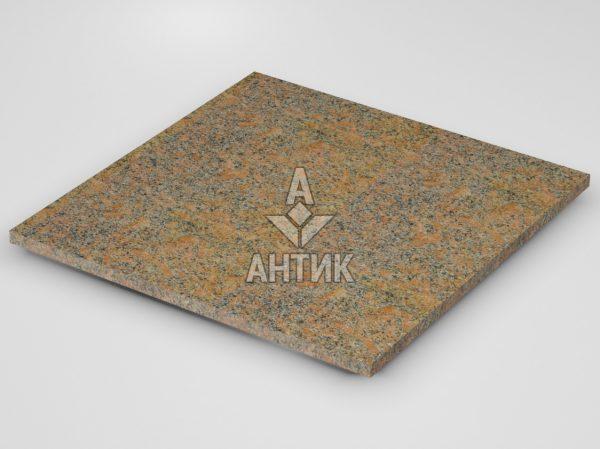 Плитка из Новоданиловского гранита 600x600x20 термообработанная фото
