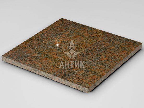 Плитка из Новоданиловского гранита 600x600x30 полированная фото