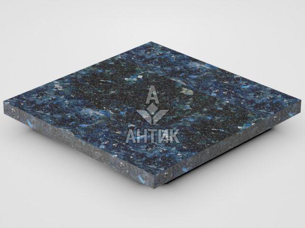 Плитка из Очеретянского лабрадорита 300x300x20 термообработанная фото