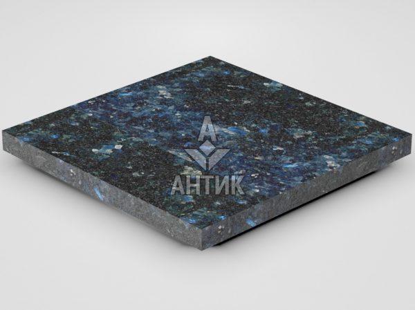 Плитка из Очеретянского лабрадорита 400x400x30 термообработанная фото