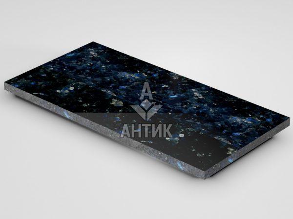 Плитка из Очеретянского лабрадорита 600x300x20 полированная фото