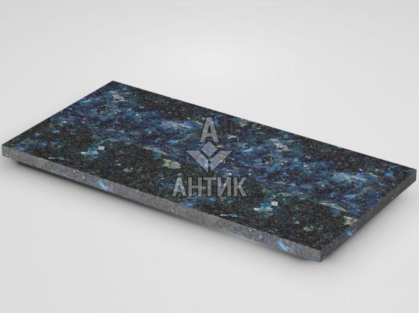 Плитка из Очеретянского лабрадорита 600x300x20 термообработанная фото