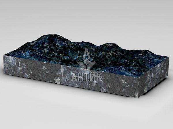 Плитка из Очеретянского лабрадорита 600x300x80 колотая фото