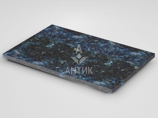 Плитка из Очеретянского лабрадорита 600x400x20 термообработанная фото