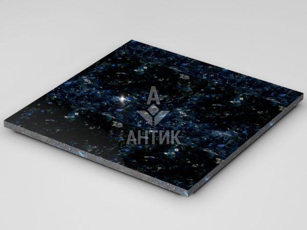 Плитка из Очеретянского лабрадорита 600x600x20 полированная фото