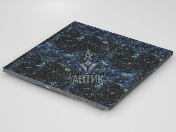 Плитка из Очеретянского лабрадорита 600x600x20 термообработанная фото