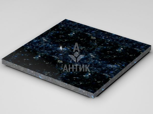 Плитка из Очеретянского лабрадорита 600x600x30 полированная фото