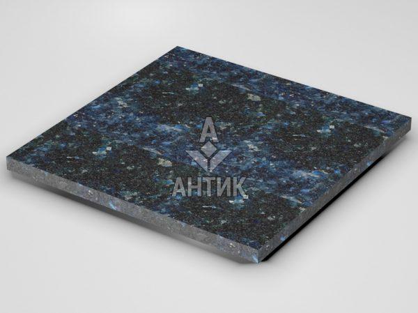 Плитка из Очеретянского лабрадорита 600x600x30 термообработанная фото