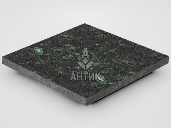 Плитка из Осныковского лабрадорита 300x300x20 термообработанная фото