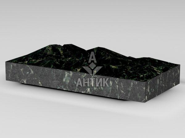 Плитка из Осныковского лабрадорита 400x200x50 колотая фото