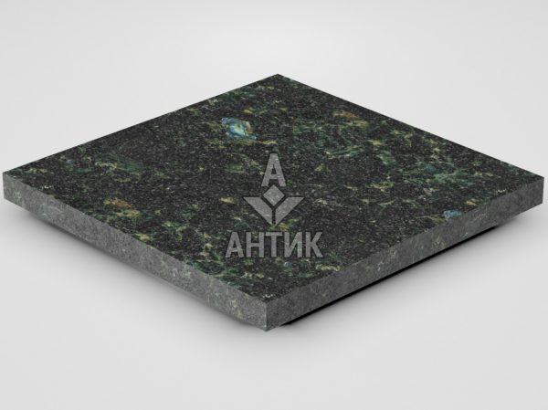 Плитка из Осныковского лабрадорита 400x400x30 термообработанная фото