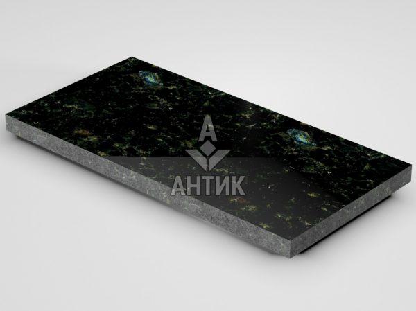 Плитка из Осныковского лабрадорита 600x300x30 полированная фото