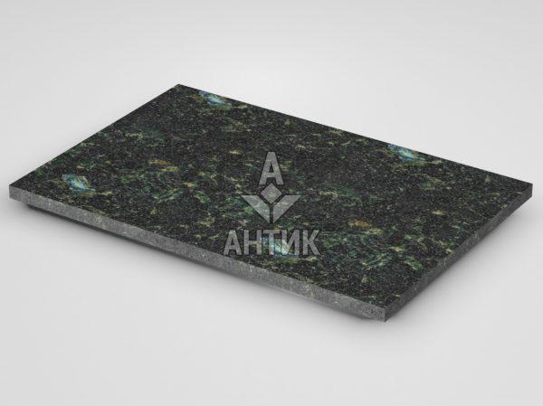 Плитка из Осныковского лабрадорита 600x400x20 термообработанная фото