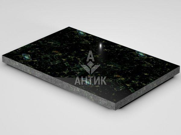 Плитка из Осныковского лабрадорита 600x400x30 полированная фото