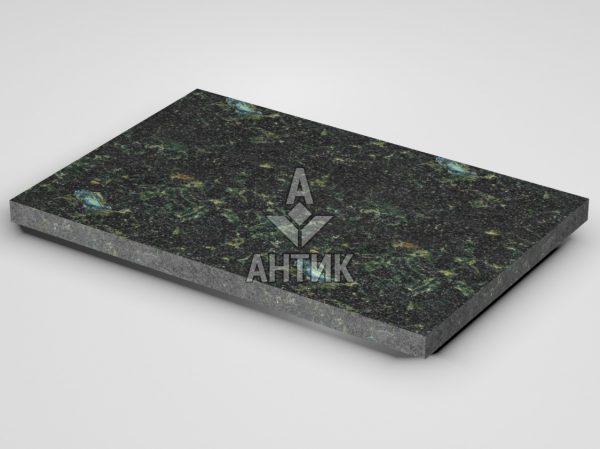 Плитка из Осныковского лабрадорита 600x400x30 термообработанная фото