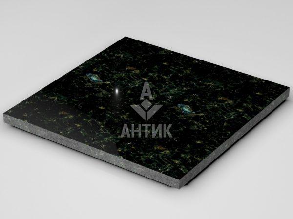 Плитка из Осныковского лабрадорита 600x600x30 полированная фото