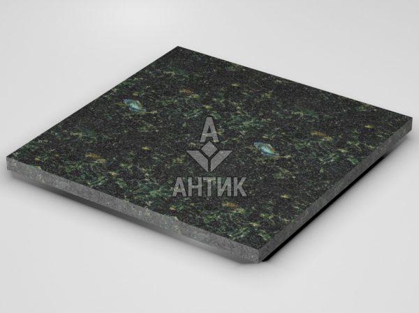 Плитка из Осныковского лабрадорита 600x600x30 термообработанная фото